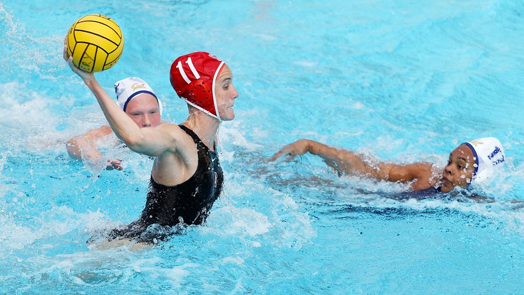 Stanford's Fischer, Hallock Sweep Collegiate Water Polo's Cutino Awards