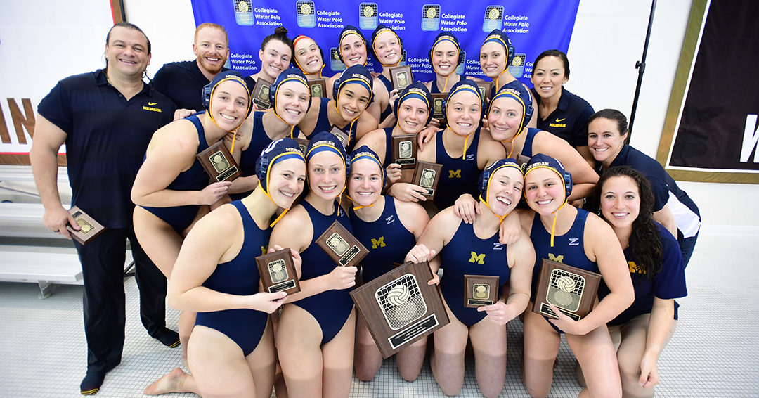 Michigan Tops Princeton 10-6, Wins Fourth-Straight CWPA Championship