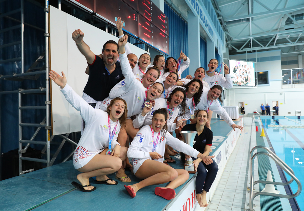 Orrizonte (Italy) Clinches Women's LEN Trophy with 10-9 Win Over UVSE Budapest