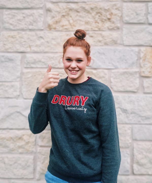 STAGS Runner Up Rebecca Rivers Delivers Verbal To Drury
