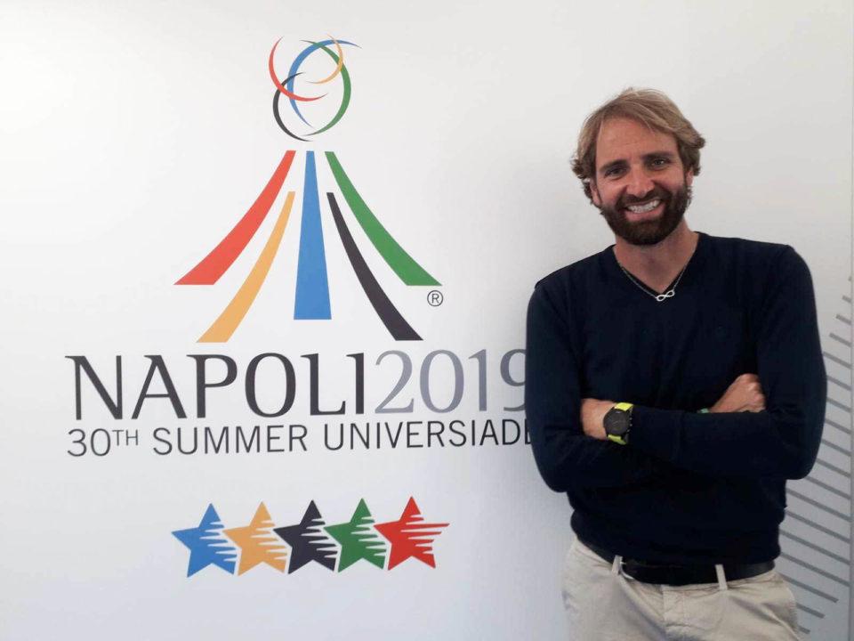Universiadi 2019: L'Olimpionico Massimiliano Rosolino Nell'Organizzazione