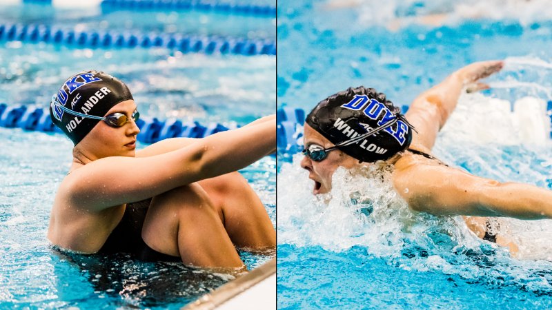 Duke's Hollander, Whitlow Earn U.S. Olympic Trials Cuts