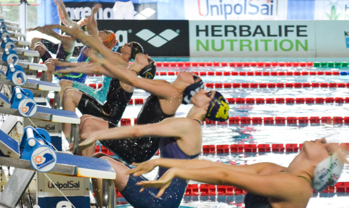 Scalia Notches 50 Back Italian Record In Riccione