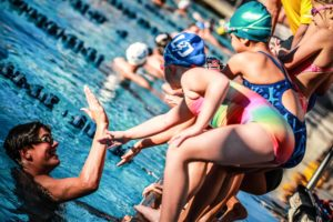 UCSD Swim Camp Kids Stock (photo: Jack Spitser)