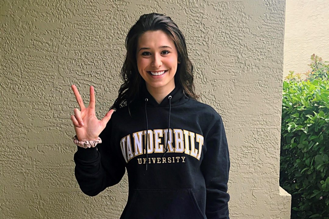 Vanderbilt Scores 2020 Verbal Commitment from Gabriela Pierobon Mays