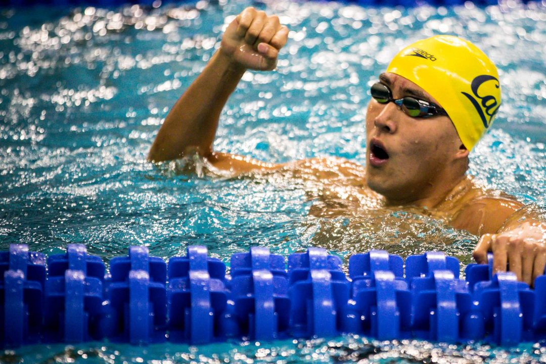 Cal's Zheng Quah Crowned 2019 King of the Pool, Wins 4 of 5 Events