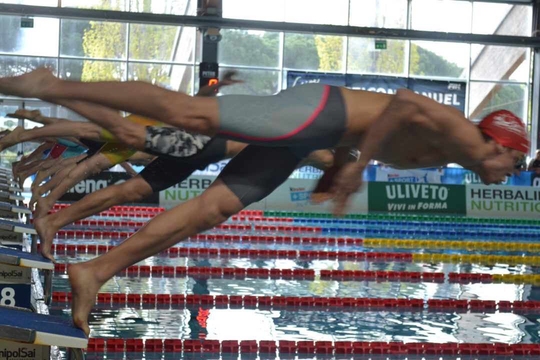Arjan Knipping Ties Marcel Wouda's Decades-Old 400 IM Dutch Record