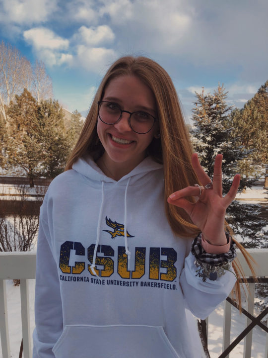 Colorado Diver Madison Gray Commits to Cal-State Bakersfield