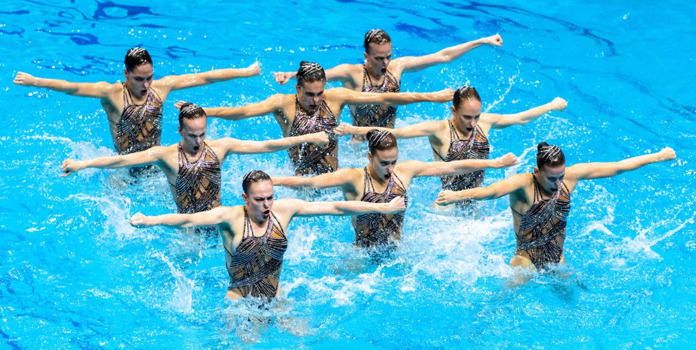 Russia Dominates Third Leg of FINA Artistic Swimming World Series 2021