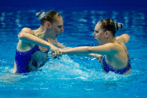 FINA Hosts Live Global Synchronized Swimming Workout Featuring Legends