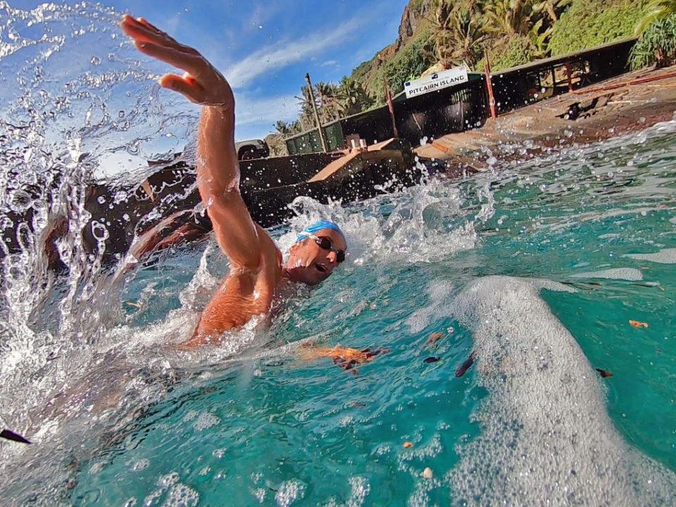 Former US National Team-er First Swimmer to Circumnavigate Pitcairn Island