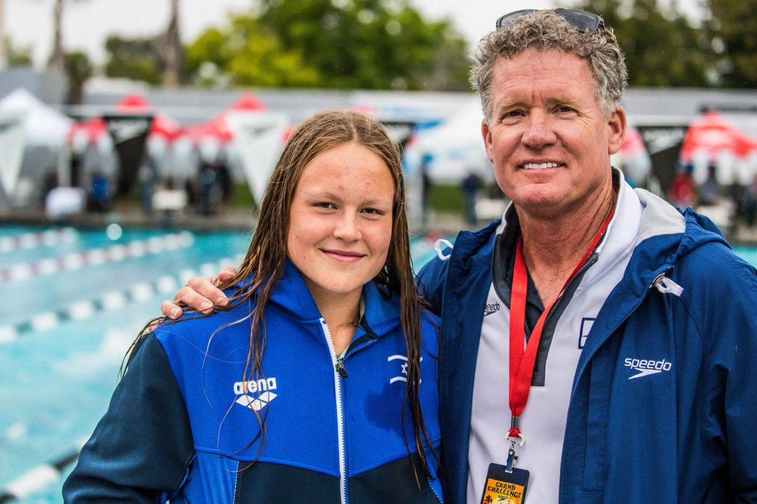 15 Year-Old Anastasia Gorbenko Sets Another Israeli National Record