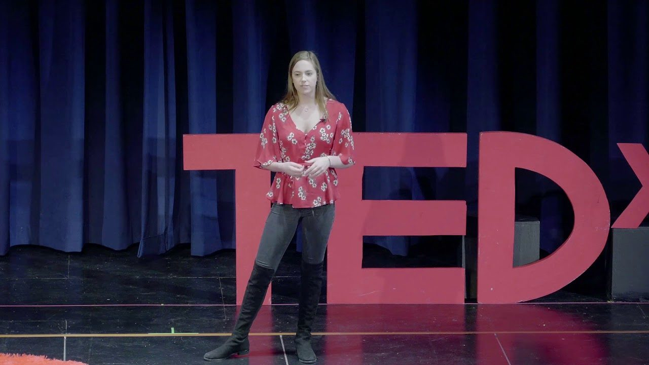 High School Swimmer Becca Michaels Gives TEDx Talk on Swimming