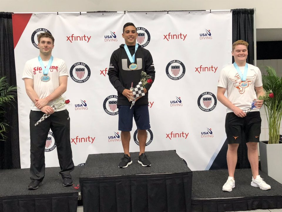 Bromberg, Casey, Herrera Win Titles at USA Diving Winter National Championships