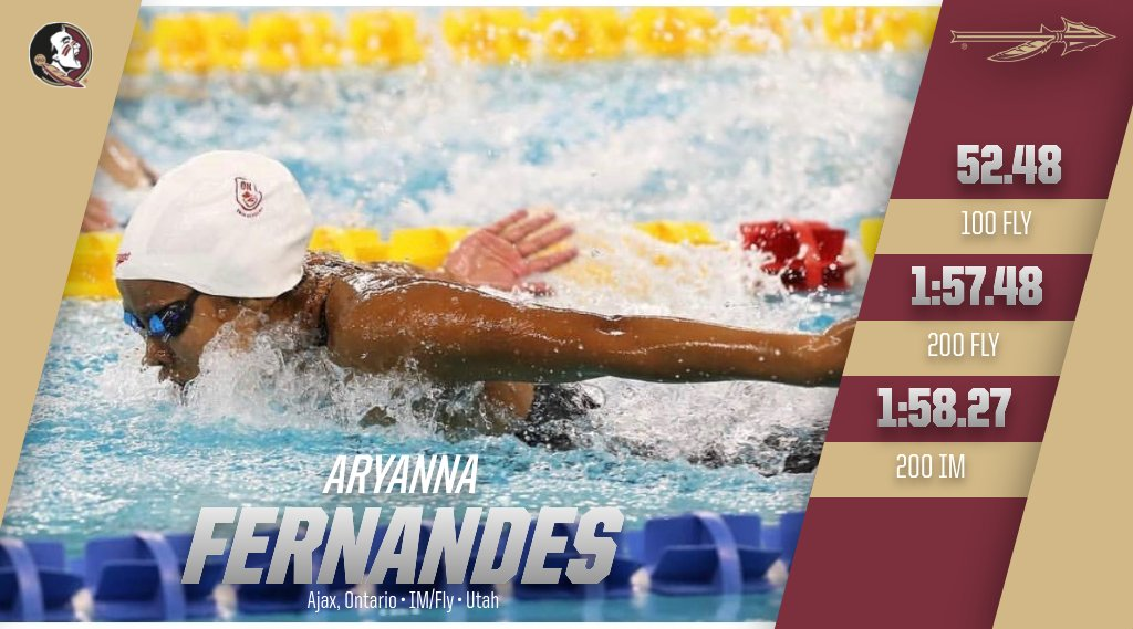 Florida State Picks Up 52.4 Butterfly Transfer Aryanna Fernandes from Utah