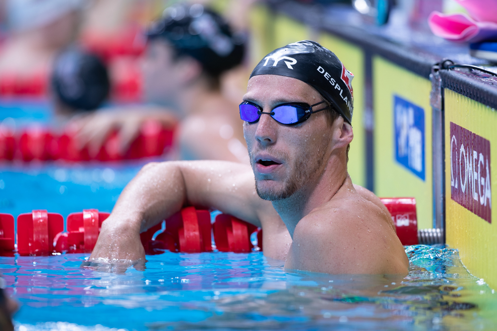 Jeremy Desplanches Breaks Swiss Record, Qualifies First For 200 IM Final