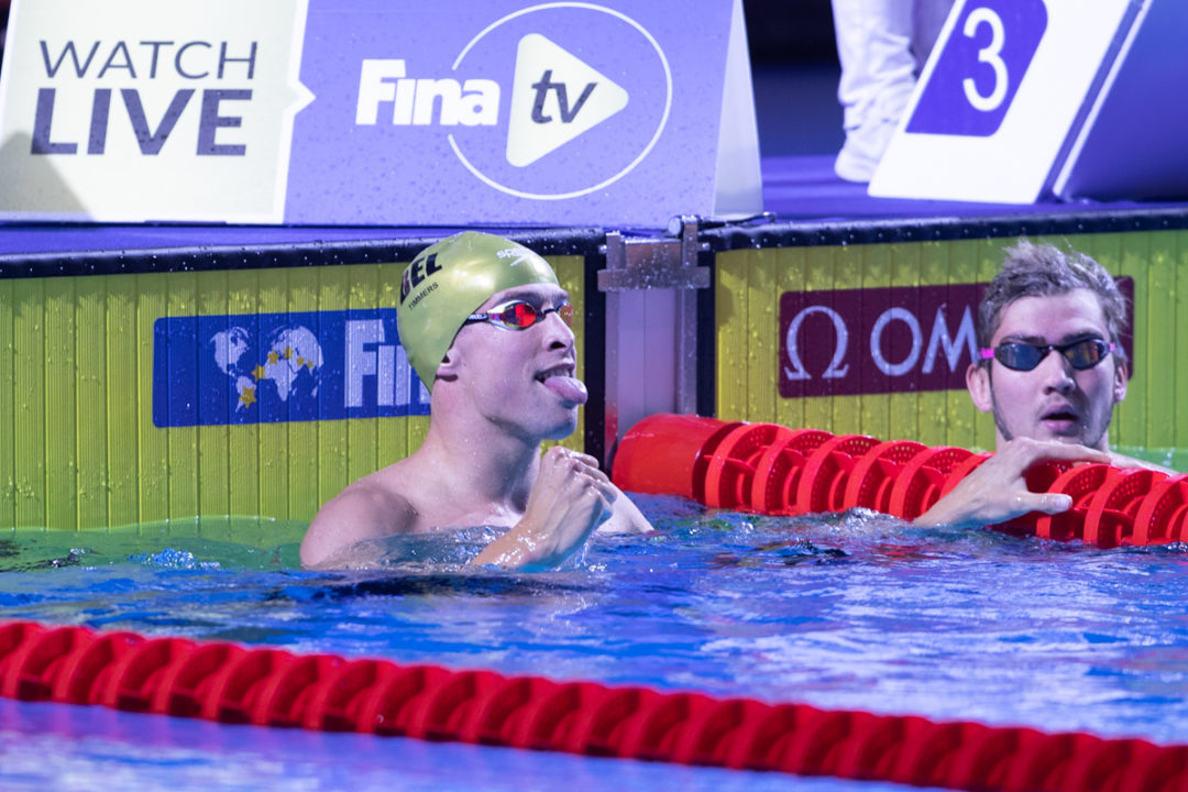 Timmers Snags 100 Free Win, Powers Medley Squad To Belgian Record