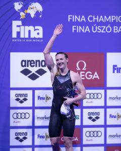 Hosszu & Cusinato Share 400 IM Podium On Day 2 Of FINA World Cup Berlin