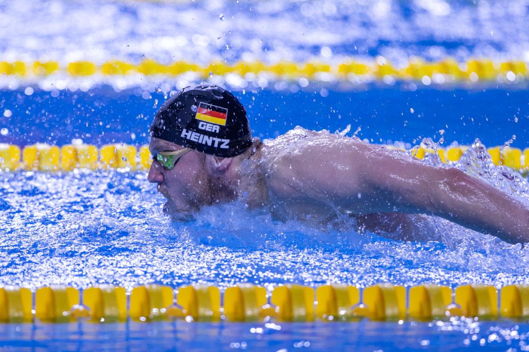 Schwimm-WM: Philip Heintz wird Vierter. Staffel wird Siebter.