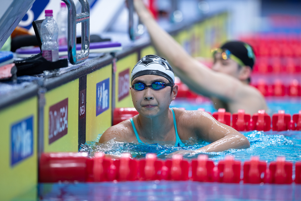 Wang Jianjiahe Completes 200/1500 Free Double At Chinese Nationals