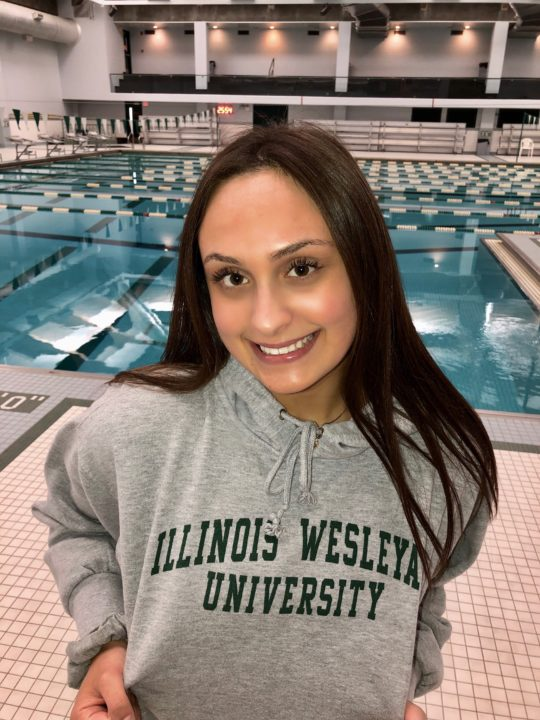Illinois Wesleyan Snags In State Distance Swimmer Donna Kurek For 2019