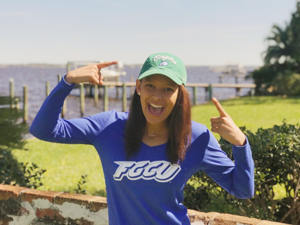 EAJ Breaststroker Emily Merton Commits to FGCU for 2020