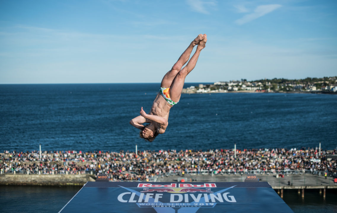 Gary Hunt Hits Monster Final Dive To Erase 27-Point Lead, Win High Diving Gold