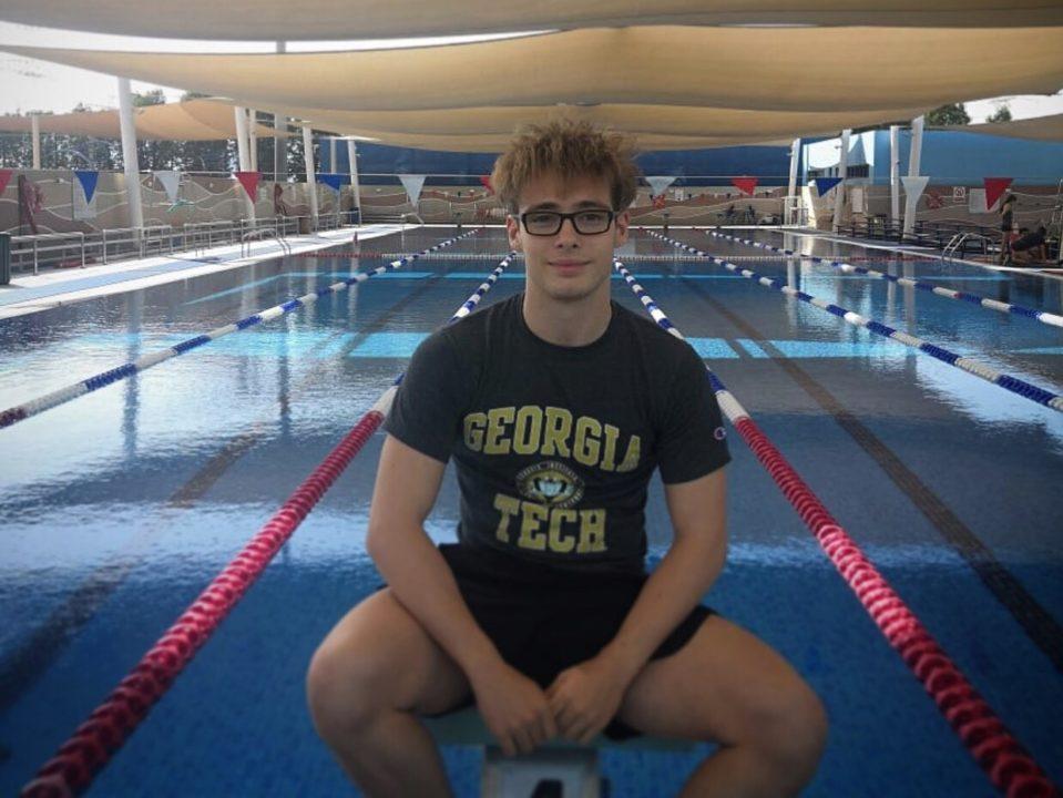 Irish Record-holder Sean McNicholl Makes Verbal Commitment to Georgia Tech