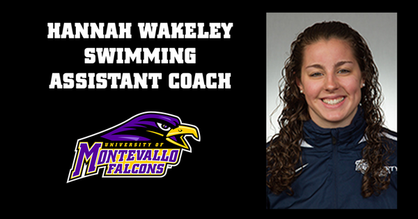 Wakeley Named Assistant Coach for Montevallo Swimming