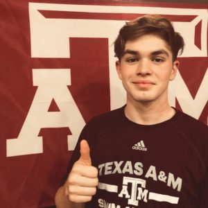 Texas A&M Commit Vincent Ribeiro Clocks 1:58.42 200 Breast PB in Practice