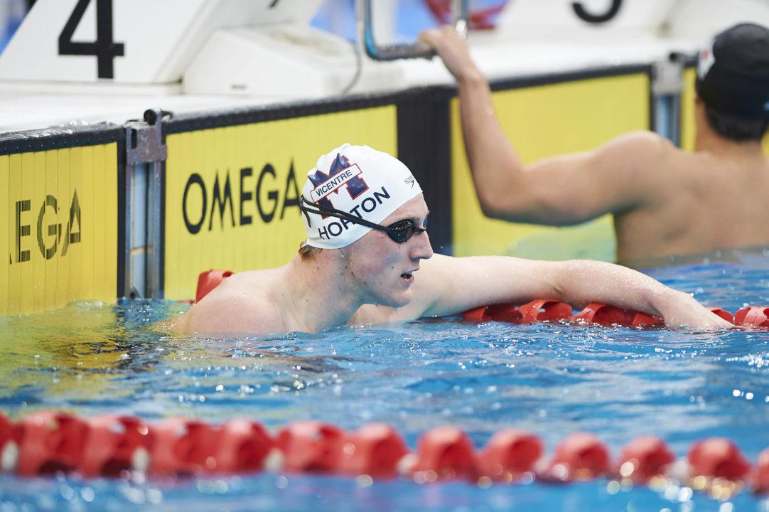 El Campeón Olímpico Mack Horton Se Queda Fuera Del Mundial En Los 400 Libres