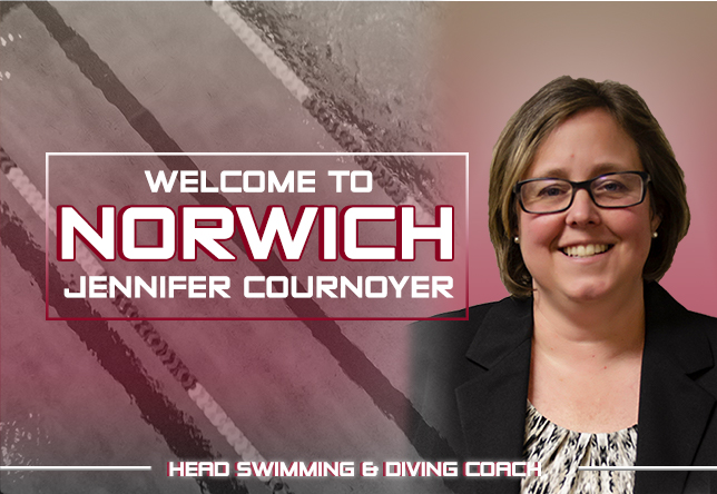Jennifer Cournoyer Tabbed to Lead Norwich Swimming & Diving Teams