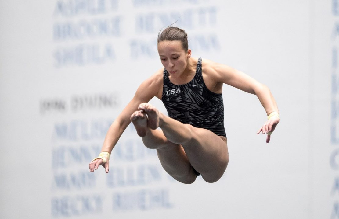 Parratto and Magaña Earn Back-to-Back Gold Medals At FINA Diving Grand Prix