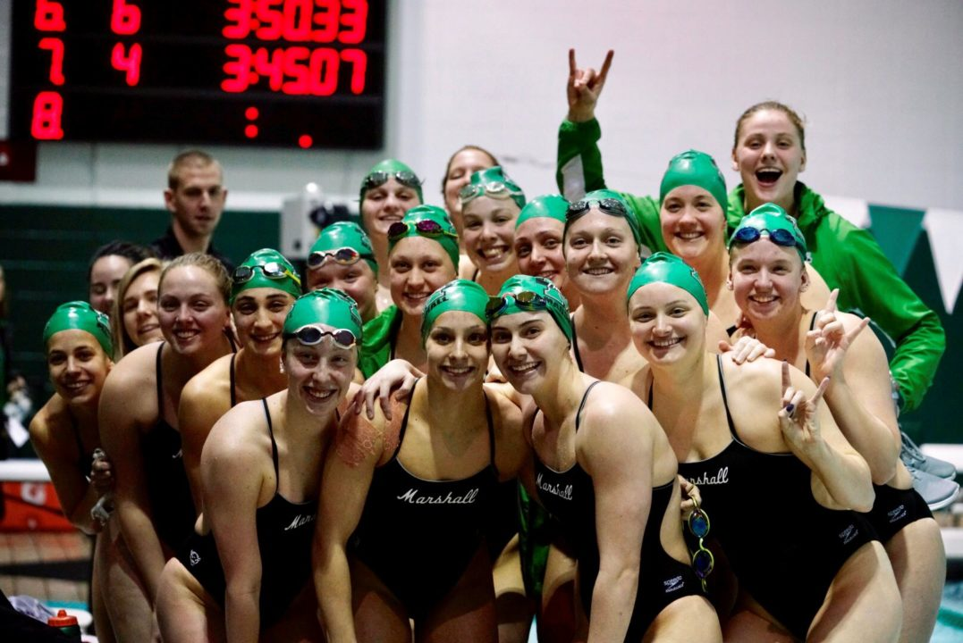 Marshall Tabs Taylor Counter as Assistant Swimming & Diving Coach