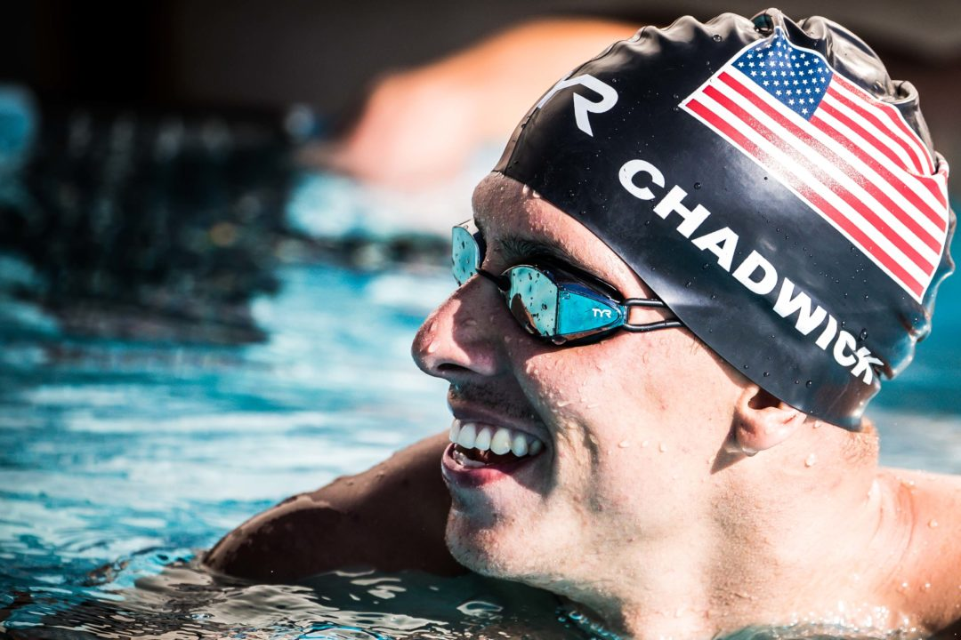 Michael Chadwick Clocks Sub-22 50 Free in Unofficial Time Trial in Singapore
