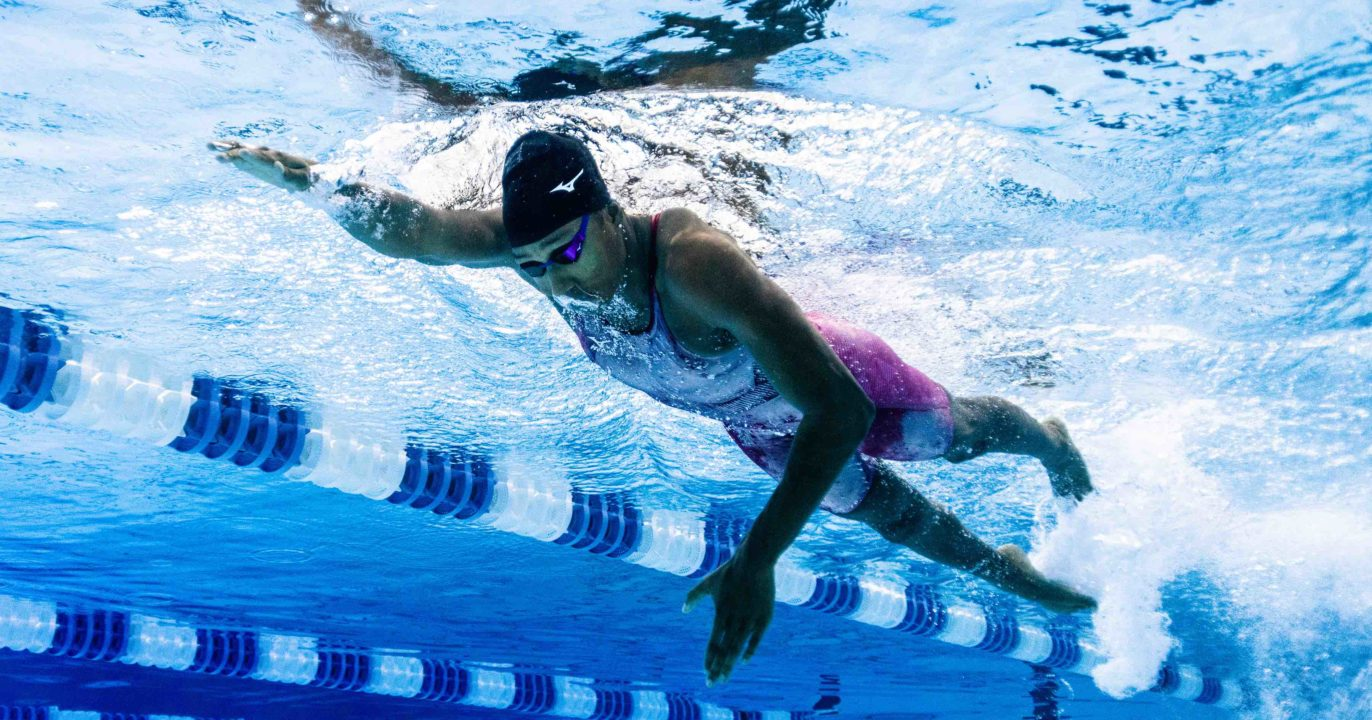 Mare Nostrum: Natalie Hinds Reflects on First International Swimming Experience