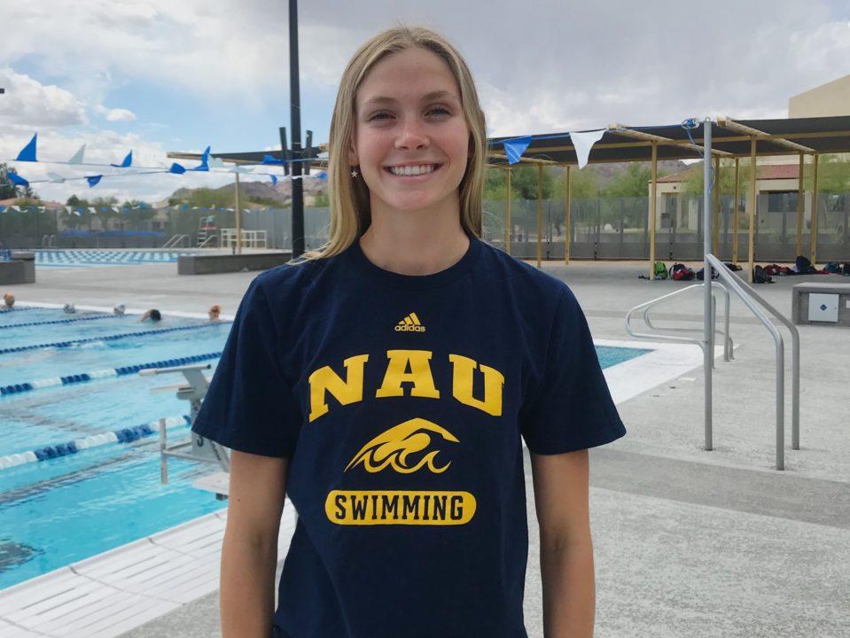 Phoenix Swim Club's Annie Carlton Makes Verbal Commitment to Northern Arizona