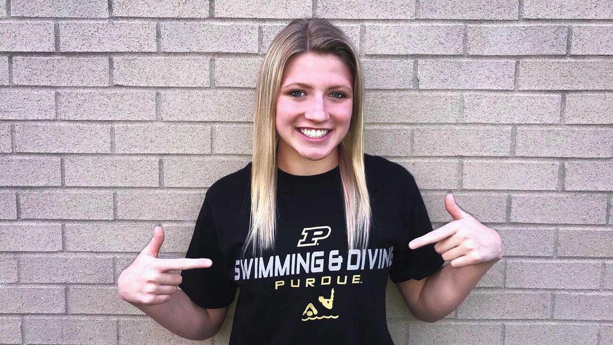 Fishers Area Distance Freestyler Abby Jahns Verbally Commits to Purdue