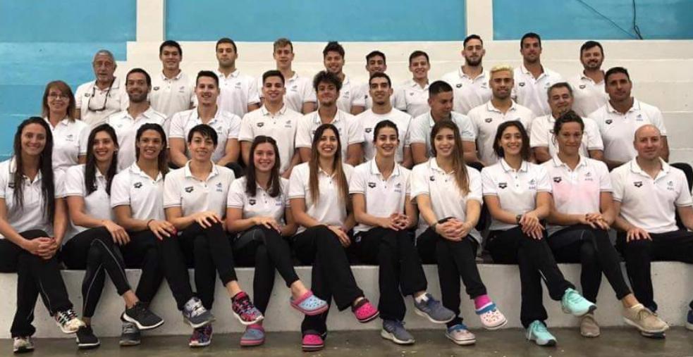 Los 17 nadadores argentinos para Lima 2019