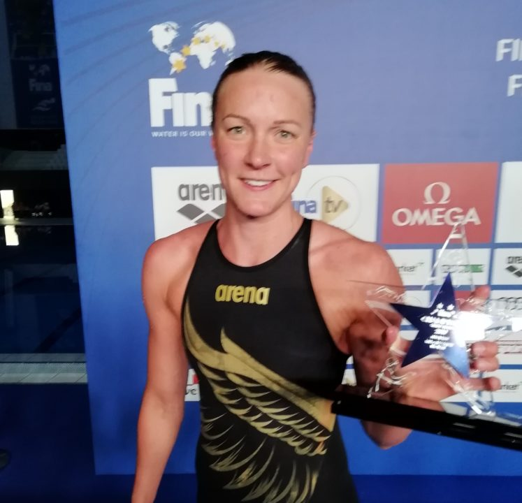 2019 FINA Champions Swim Series – Budapest: Day 2 Money Table