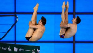 Tom Daley Wins Great Britain's First Gold of the Week in 10m Synchro