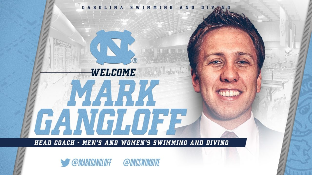 UNC Hires Olympian Mark Gangloff to Lead Swim & Dive Programs