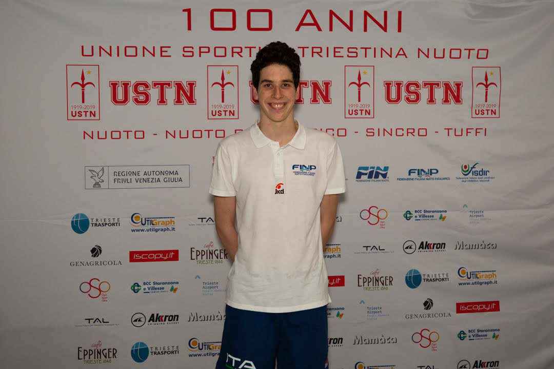 Nuoto Paralimpico: A Trieste Misha Palazzo Record Del Mondo Nei 1500 SL