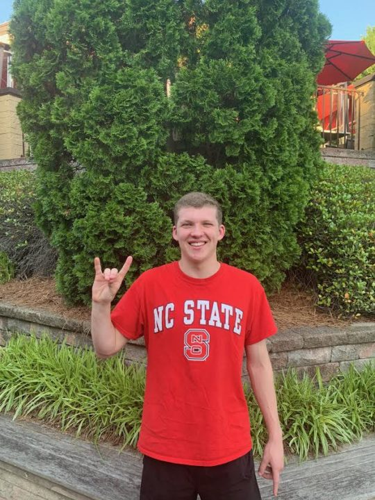 SwimMAC's Conall Monahan Gives Commitment to North Carolina State
