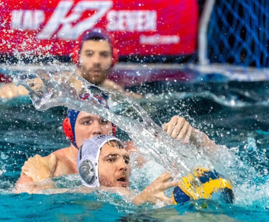 Champions League Water Polo Third Round Playoffs Begin Saturday