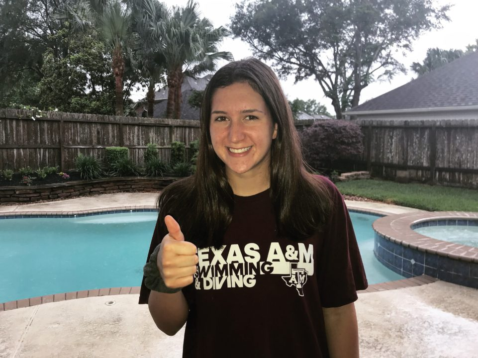 Olivia Theall Will Join All-American Brother Mark at Texas A&M