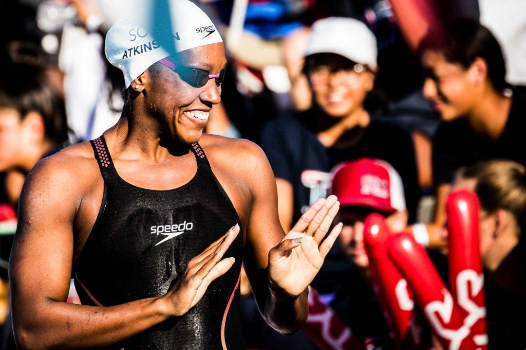 2019 Swammy Awards: CAC Athlete of the Year Alia Atkinson, Jamaica