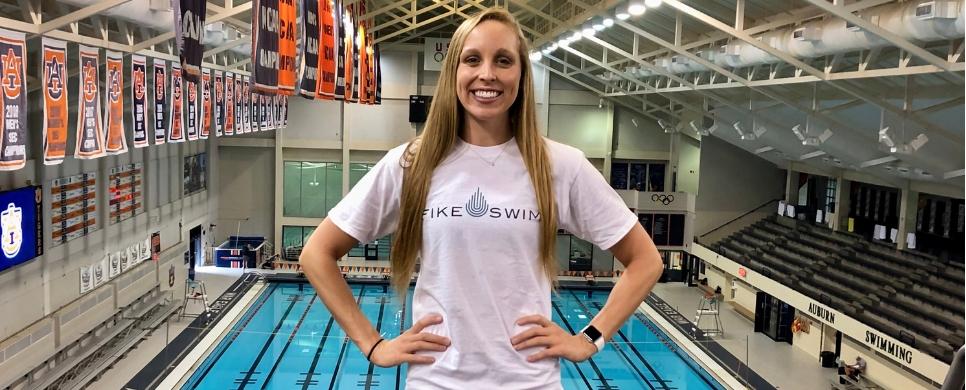 Fike Swim Signs Auburn Standout Aly Tetzloff