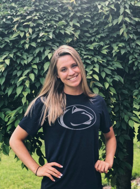 Hometown Distance Freestyler Annie Walls Delivers Verbal To Penn State For 2020