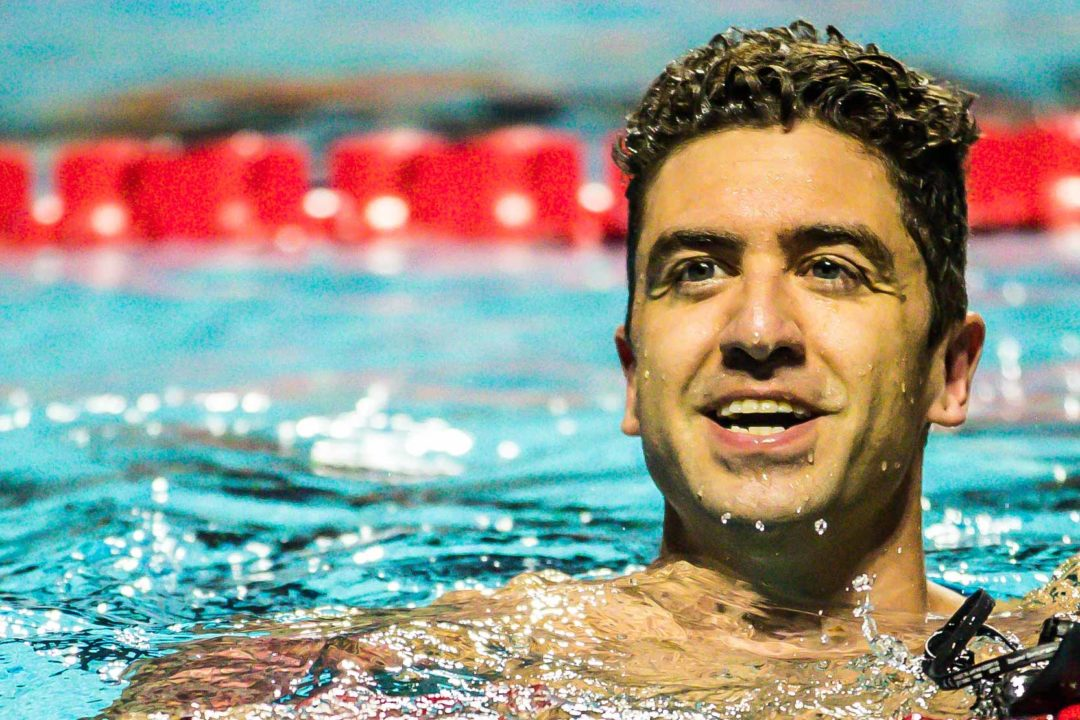 Anthony Ervin Logs 4th Race of Season at 2019 Masters Nationals